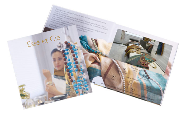 Video Brochure for Luxury Apparel Launch